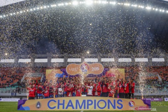 Persib Bandung juara Liga 1 Putri 2019