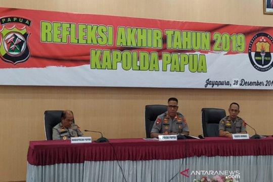 Sepanjang 2019, 10 anggota TNI-Polri meninggal kontak tembak KKB