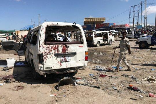 Ledakan di pos pemeriksaan Mogadishu tewaskan belasan orang