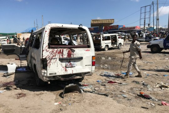 Bom bunuh diri hantam pos pemeriksaan di pelabuhan Somalia