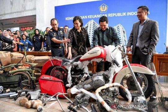 Kemenkeu: Lelang Harley dan Brompton selundupan tunggu proses hukum