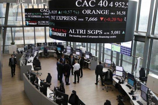 Saham Prancis untung 4 hari beruntun, Indeks CAC terkerek 0,01 persen