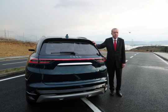 TOGG, mobil nasional Turki bermodel SUV
