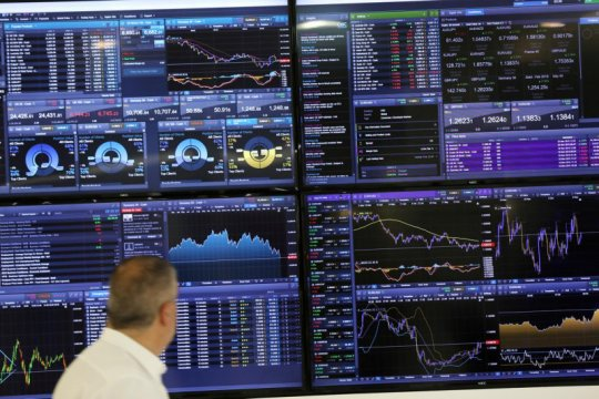 Saham Inggris ditutup jatuh, indeks FTSE 100 kehilangan 0,76 persen