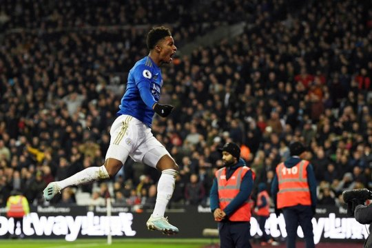 Menang atas West Ham, Leicester pastikan tetap di atas Man City