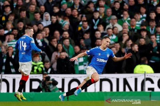 Rangers menangi Derby Old Firm penutup tahun demi jaga asa juara