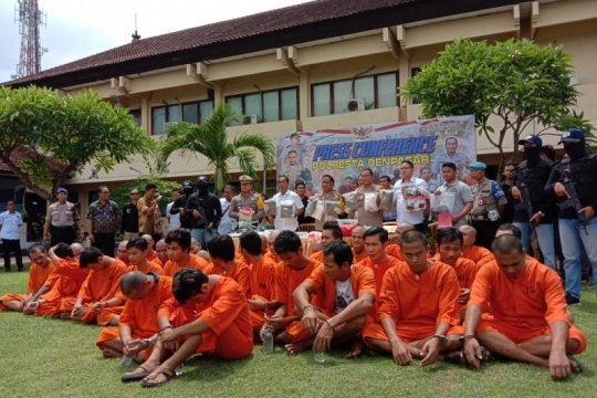 Polresta Denpasar ungkap 621 kasus pidana selama 2019
