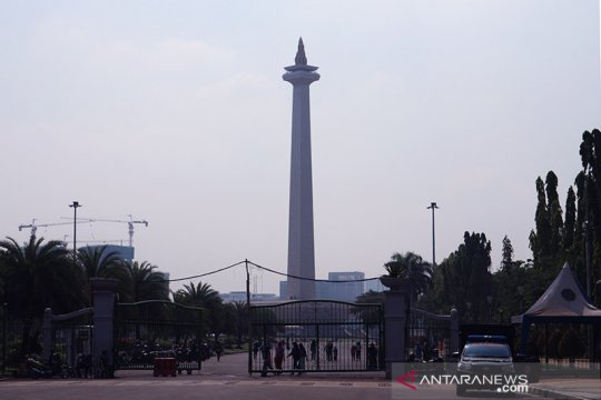 Sabtu, destinasi wisata Jakarta diperkirakan juga diguyur hujan
