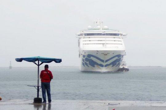 Sun Pincess kapal pesiar keempat sandar di Makassar