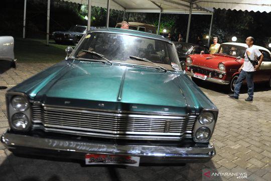 Pameran mobil klasik di Bali