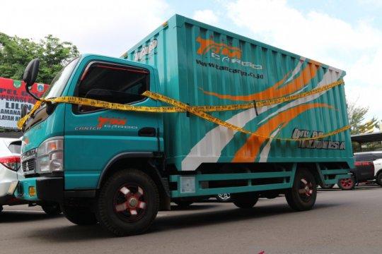 374 kg ganja Aceh dikirim gunakan jasa ekspedisi