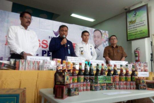 BPOM ungkap 12 kasus produk obat dan makanan ilegal di Banten