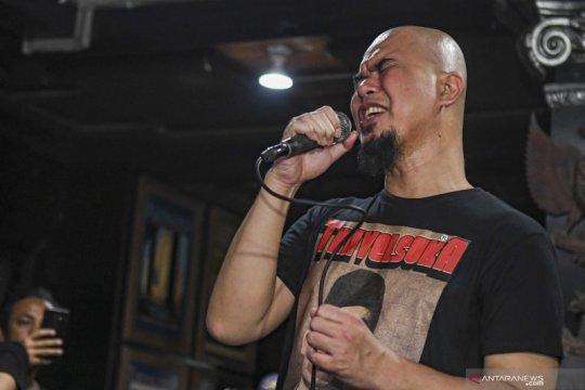 Ahmad Dhani konser meriahkan HUT Ke-12 DPD Gerindra Banten