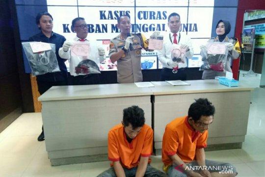 Dua tersangka begal taksi daring di Palembang terancam hukuman mati