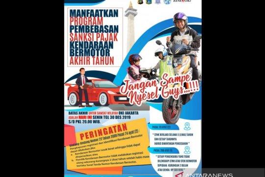 Polda Metro Jaya sediakan 13 lokasi layanan Samsat Keliling