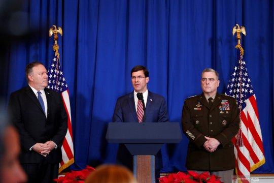 Menhan Esper:  AS tidak tarik pasukan dari Irak