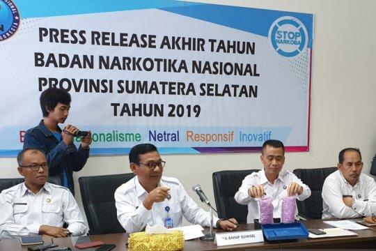 BNNP Sumsel amankan ribuan butir pil ektasi untuk Tahun Baru
