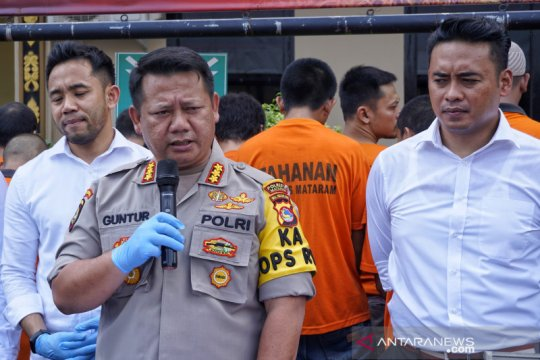 Polresta Mataram OTT lima kasus sepanjang 2019