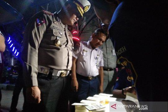 Tim gabungan Polda Aceh gelar razia narkoba di terminal bus