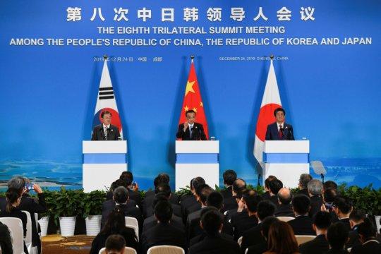 Korsel, China lakukan pembicaraan tingkat tertinggi sejak wabah corona