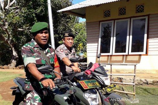 TNI dan polisi di Kepulauan Sangihe amankan perayaan Tahun Baru