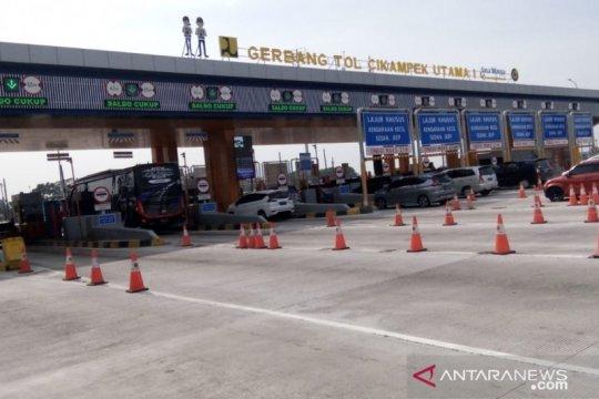 38.929 kendaraan lewati Gerbang Tol Cikarang Utama H-2 Tahun Baru