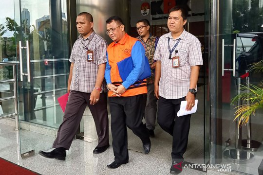 KPK rampungkan penyidikan Bupati Bengkayang nonaktif Suryadman Gidot