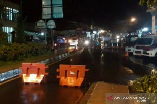Jalur Puncak ditutup, kendaraan dialihkan ke Simpang Ciawi