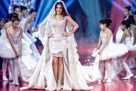 Gaun pengantin desainer Mesir ini dibanderol Rp2 miliar