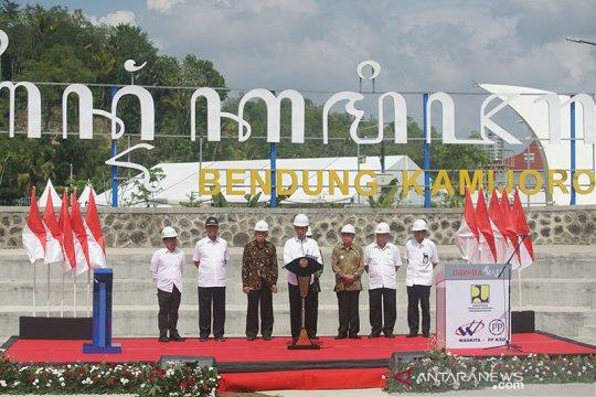 Jokowi sebut Bendung Kamijoro Kulon Progo tingkatkan ketahanan pangan