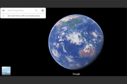 Google Maps bisa untuk melihat planet, begini caranya