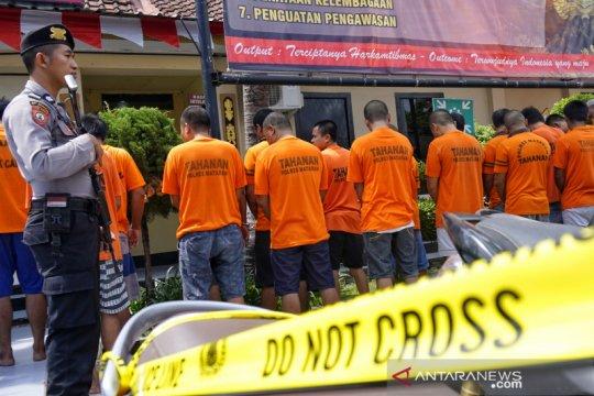 Polresta Mataram menangkap 259 orang terlibat kasus narkotika