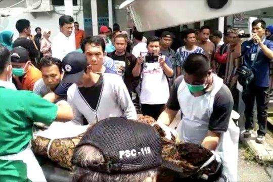 RS Basemah identifikasi korban kecelakaan maut Bus Sriwijaya
