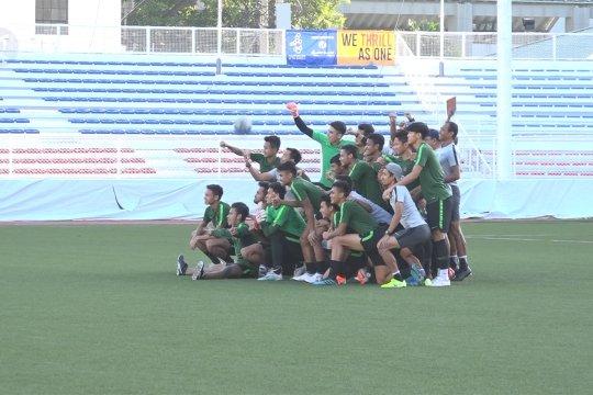 Timnas U-22 Indonesia siap tempur lawan Vietnam