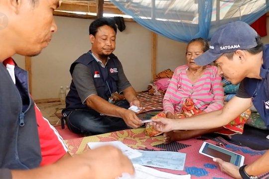 PMI distribusikan bantuan non tunai kepada 4000 KK korban gempa