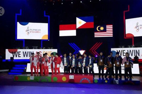 Tim Mobile Legends Indonesia harus puas raih perak