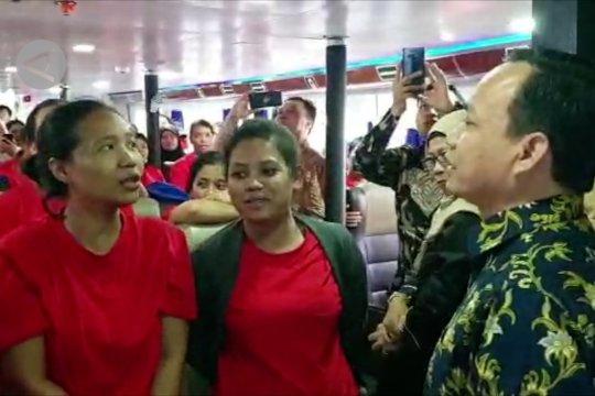 459 WNI tahanan Imigrasi Malaysia dipulangkan
