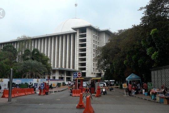 Kabar ledakan di sekitar Masjid Istiqlal sebagai tidak benar