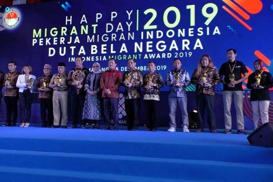 LKBN Antara terima Indonesian Migrant Worker Award