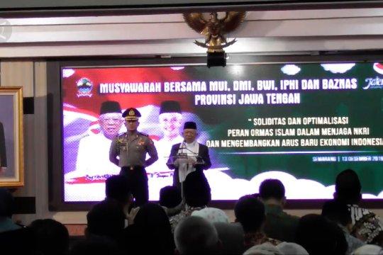 Ma'ruf  dorong Indonesia jadi produsen halal terbesar dunia