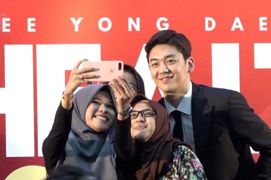 Pebulutangkis Lee Yong Dae terpincut keramahan masyarakat Indonesia
