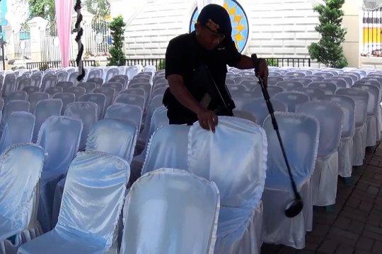 21 Gereja di Medan jadi prioritas penjagaan dari ancaman serangan bom