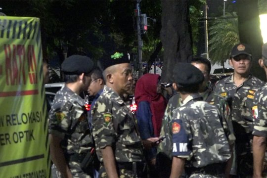 Banser NU dan PP rutin jaga Misa Natal di Gereja Katedral Jakarta