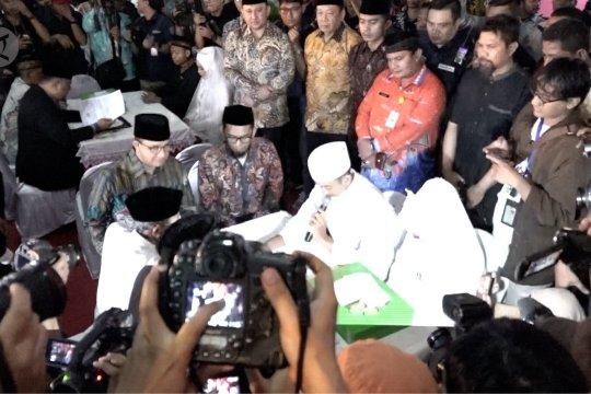 Pemprov DKI Jakarta gelar nikah massal rayakan pergantian tahun