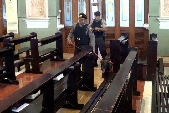 Pengamanan di 23 gereja di Kota Pekalongan
