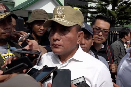 Gubernur Sumatera Utara tanggapi penyebaran virus demam babi Afrika