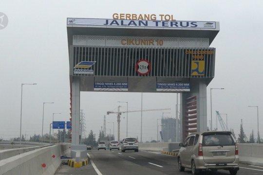Tol Layang Japek II sudah beroperasi