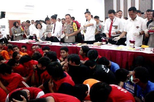 Polrestabes Surabaya ungkap 780 kasus kejahatan jalanan