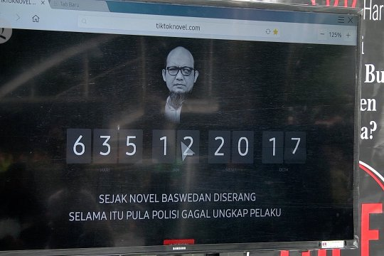 Polri janjikan segera ungkap kasus Novel Baswedan