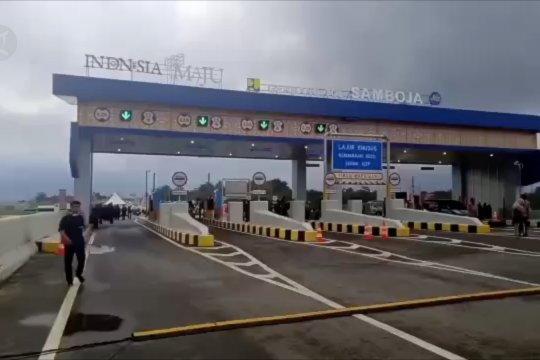 Presiden resmikan jalan tol pertama di Pulau Kalimantan